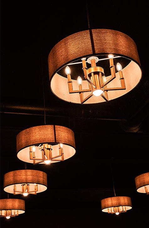 lamparas manuel restaurante